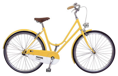Pantone Vélo - Bicycle 14-0848 - Mimosa by Abici :  bicycle steel italy yellow