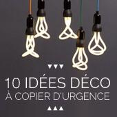 10 idées déco à copier d'urgence