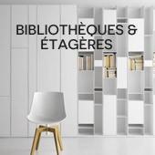 Bibliotèque & étagères cultivées