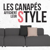 Les canaps affichent leur style !