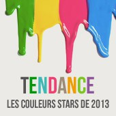 Les couleurs phares de lanne 2013