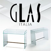 Dcouvrez sans attendre les dernires crations de Glas Italia, tout en transparence