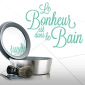 Le bonheur est dans le bain