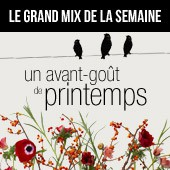 Le Grand Mix de la semaine, on goûte à un intérieur printanier | Made In Design