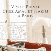 Visite privée chez Amal et Hakim à Paris - The Socialite Family
