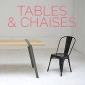 Tables & Chaises : le bon mix !