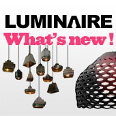 Luminaires : Whats new !