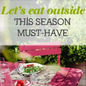 Let's eat outside