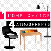 1 Home office 4 Atmospheres - Scandinavian