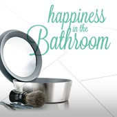 Happiness in the bathroom
