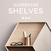 Superstar shelves : new products and icons