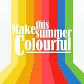 Make this summer colourful