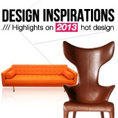 Design inspirations : Highlights on 2013's hot design