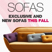 Our exlusive and new sofas + special offer on Fritz Hansen