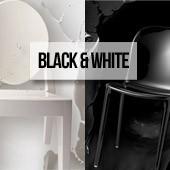 Zoom sulla tendenza black & white