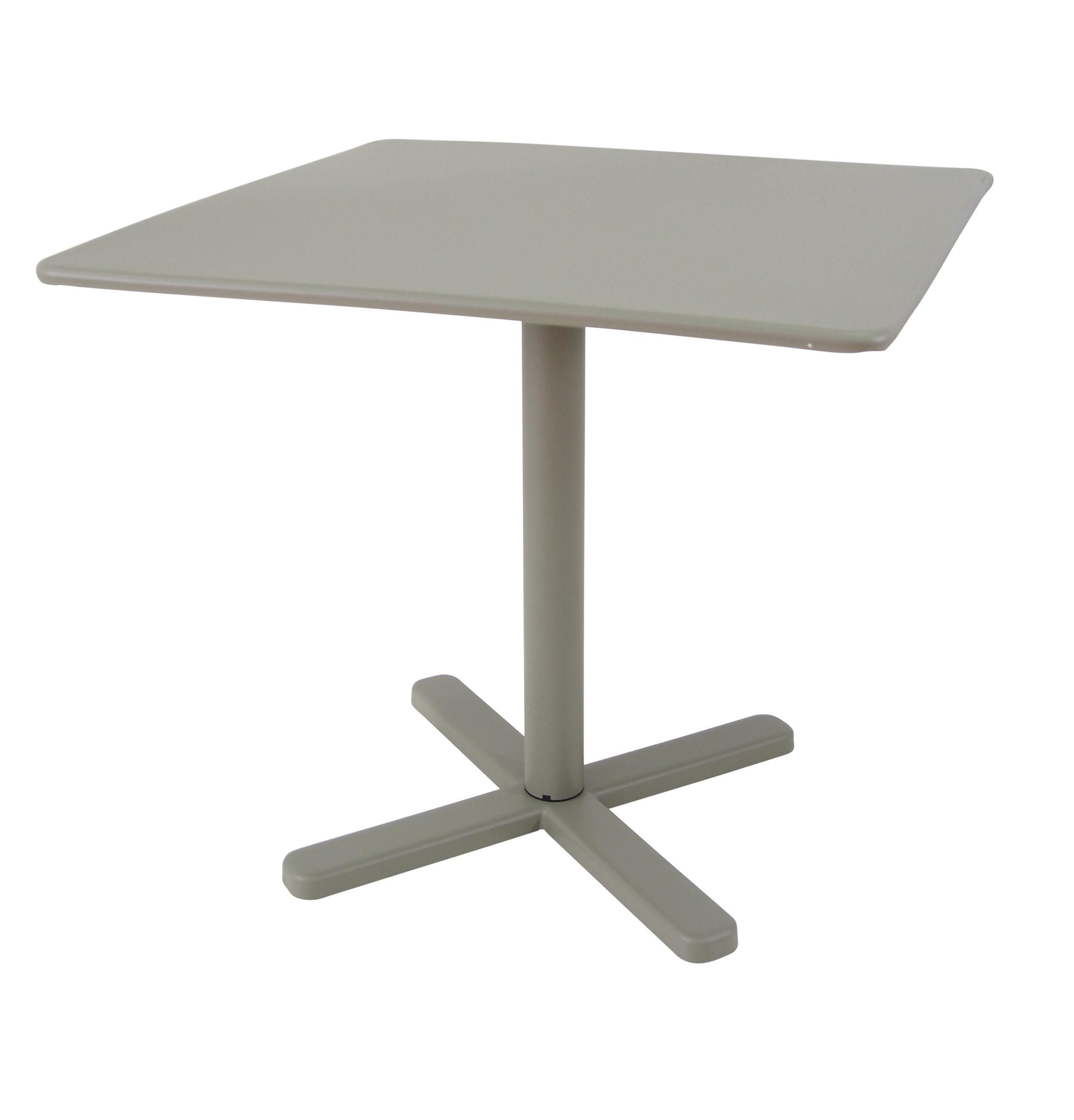 Darwin coffee table 70 x 70 cm grey by emu for Coffee table 70 x 70