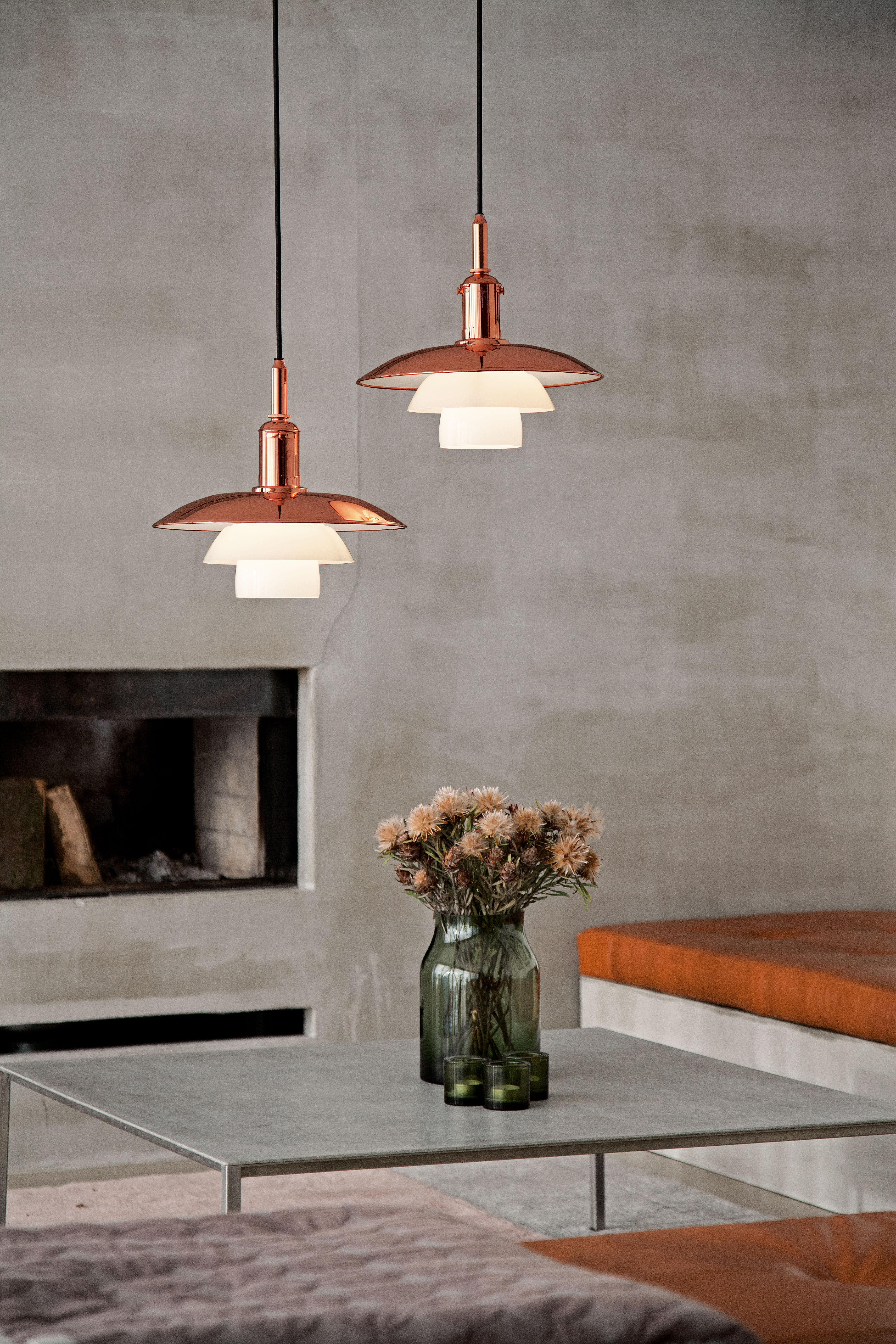 ph 3 3 pendant copper limited edition copper by louis. Black Bedroom Furniture Sets. Home Design Ideas