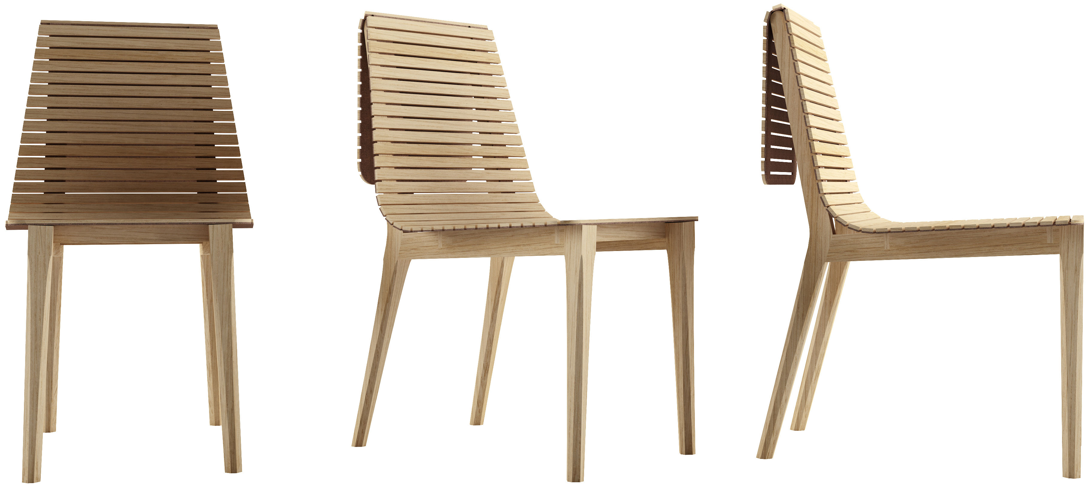 Chaise market bois clair petite friture - Chaise bois clair ...