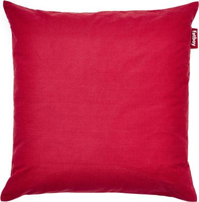 Pouf cuscino stonewashed coussin de sol 99 x 99 cm rouge fatboy - Coussin de sol fatboy ...