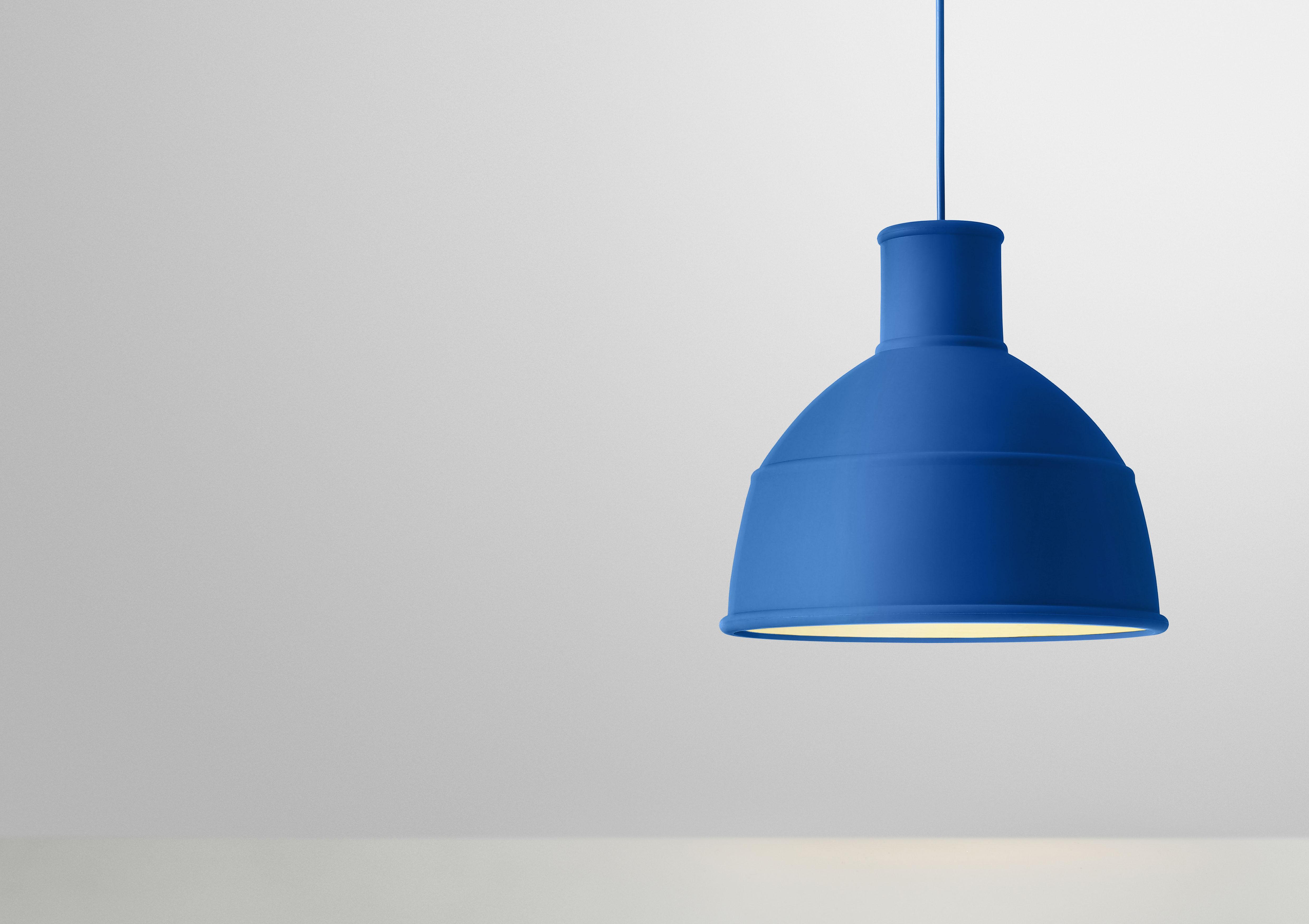 unfold pendant blue by muuto. Black Bedroom Furniture Sets. Home Design Ideas