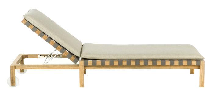 matelas mistral pour bain de soleil blanc roda. Black Bedroom Furniture Sets. Home Design Ideas