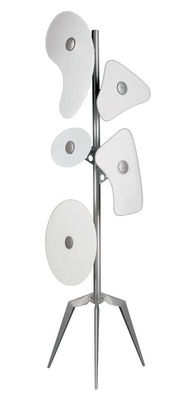 Foto Lampada a stelo Orbital di Foscarini - Bianco - Metallo