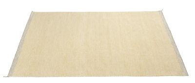 Foto Tappeto PLY / 200 x 300 cm - Tessuto a mano - Muuto - Giallo - Tessuto