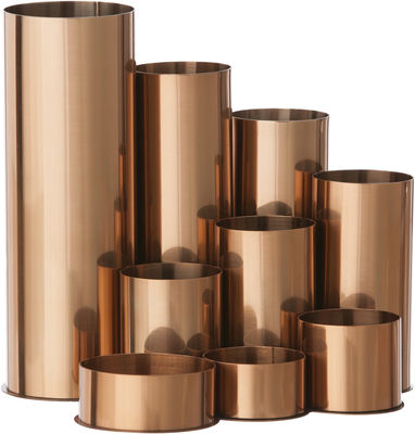 Porte crayons copper cuivre ferm living for Porte living