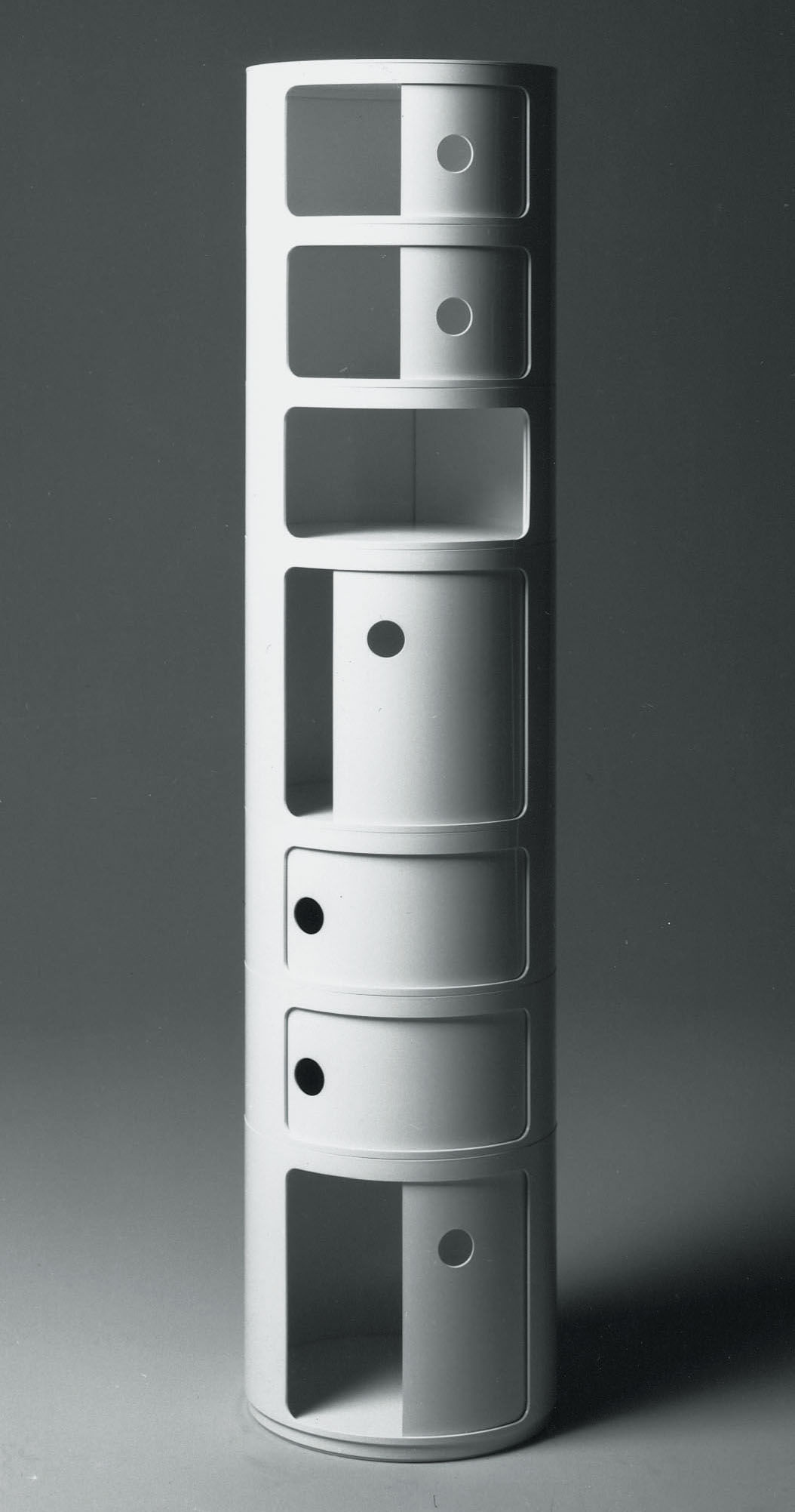 componibili storage 2 elements white by kartell. Black Bedroom Furniture Sets. Home Design Ideas