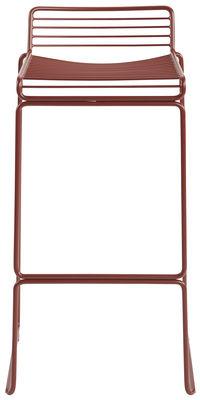 Foto Sgabello bar Hee - / H 75 cm di Hay - Ruggine - Metallo