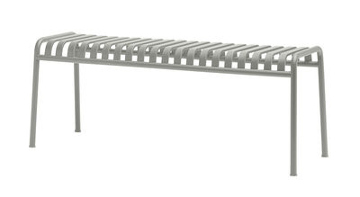 Foto Panca Palissade / L 120 cm - R & E Bouroullec - Hay - Grigio chiaro - Metallo Panchina
