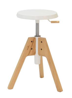 tabouret bois blanc. Black Bedroom Furniture Sets. Home Design Ideas