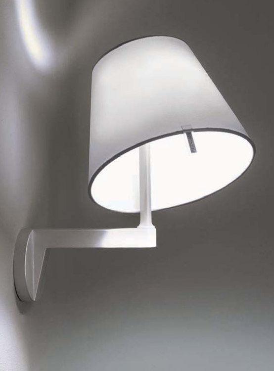 applique melampo gris aluminium artemide. Black Bedroom Furniture Sets. Home Design Ideas