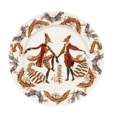 Image du produit Assiette Tanssi / Ø 27 cm - Iittala Multicolore en Céramique