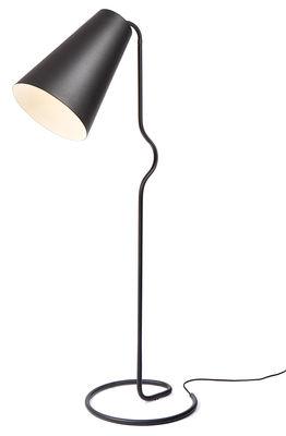 Foto Lampada a stelo Bender di Northern Lighting - Nero - Metallo
