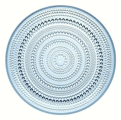 Image du produit Assiette Kastehelmi Ø 26 cm - Iittala Bleu ciel en Verre