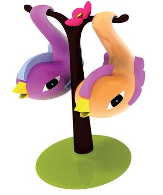 Foto Set salie e pepe Paradise birds di A di Alessi - Multicolore - Materiale plastico
