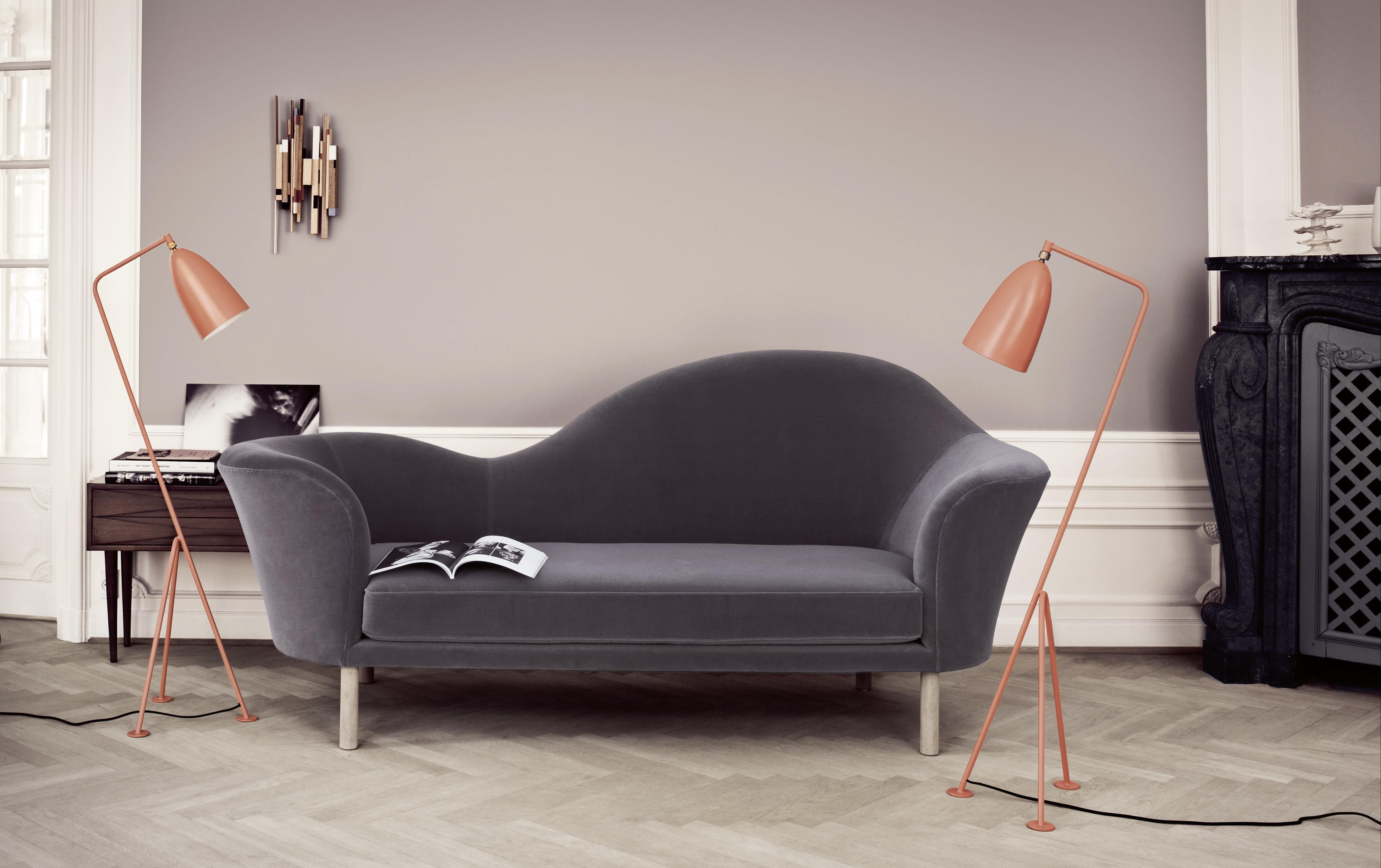 lampadaire grasshopper grossman r dition 1947 vieux. Black Bedroom Furniture Sets. Home Design Ideas