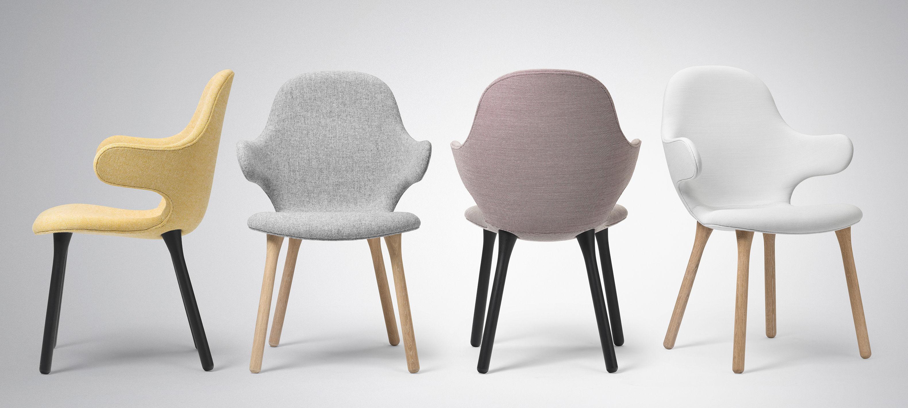 catch kvadrat bezug stuhlbeine aus holz and tradition gepolsterter sessel. Black Bedroom Furniture Sets. Home Design Ideas