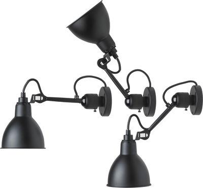 applique n 304 sw lampes gras noir mat dcw ditions. Black Bedroom Furniture Sets. Home Design Ideas