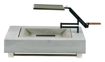 Foto Griglia barbecue per tavolo basso/ braciere - Viteo - Metallo lucidato - Metallo