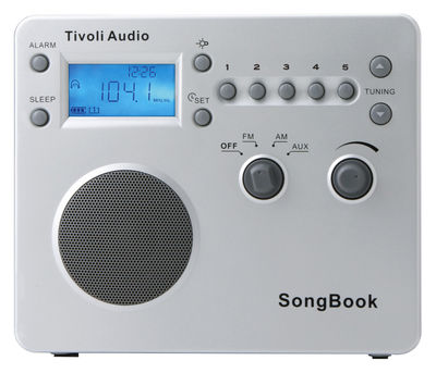 Song Book Clock radio - Digital and portable