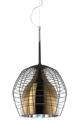 Suspension Cage Ø 46 cm - Diesel with Foscarini Bronze,Marron en Métal