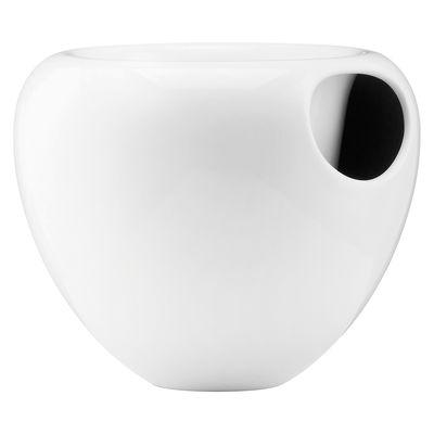 pot de fleurs pour orchid e avec r serve d 39 eau blanc. Black Bedroom Furniture Sets. Home Design Ideas