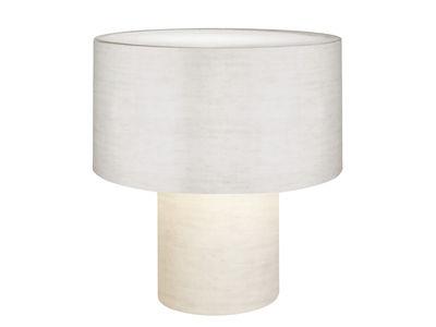 Foto Lampada da tavolo Pipe - H 53 cm di Diesel with Foscarini - Bianco - Tessuto