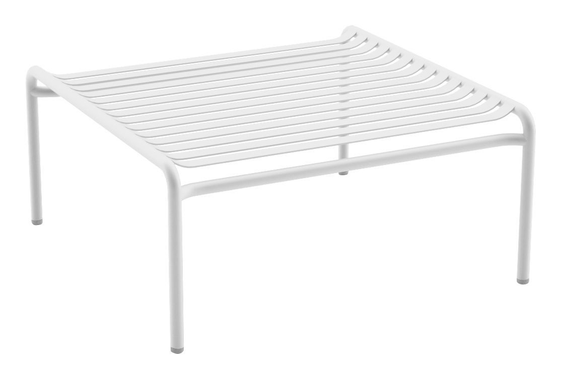 Week end coffee table 50x50 cm white by oxyo for Table 50x50