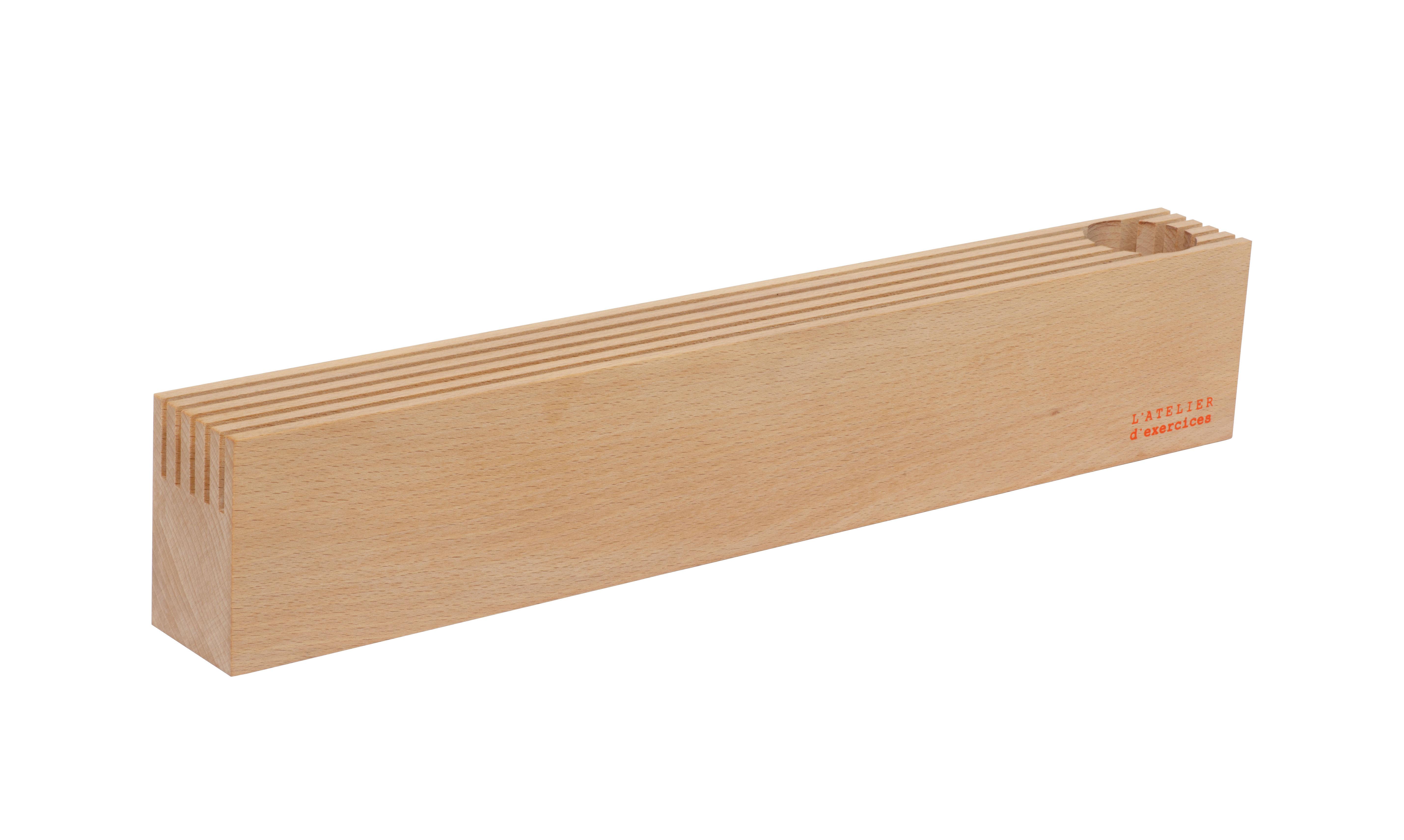 organiseur de bureau l 50 cm bois clair l 39 atelier d 39 exercices. Black Bedroom Furniture Sets. Home Design Ideas