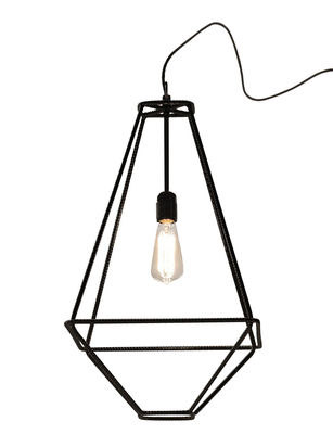 Foto Lampada da tavolo Con.Tradition Small - / 35 x 35 x H 63 cm di Opinion Ciatti - Nero - Metallo