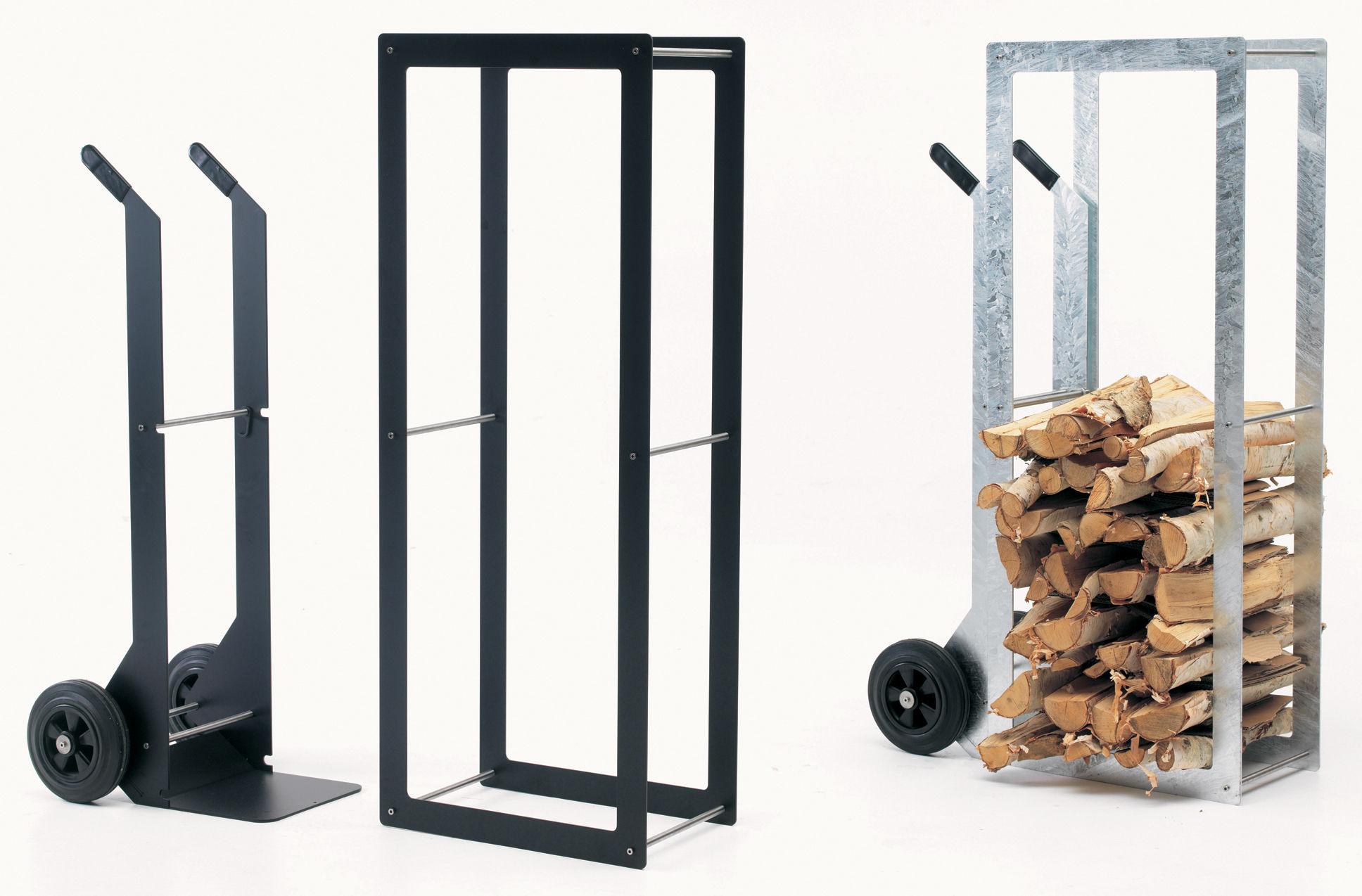 Woodstock wood holder steel outdoor and indoor use by - Rangement buche de bois interieur ...