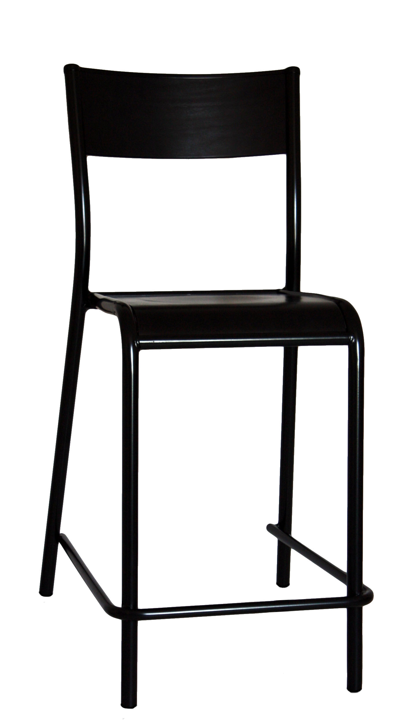 chaise de bar 510 originale assise bois h 60 cm h 60. Black Bedroom Furniture Sets. Home Design Ideas